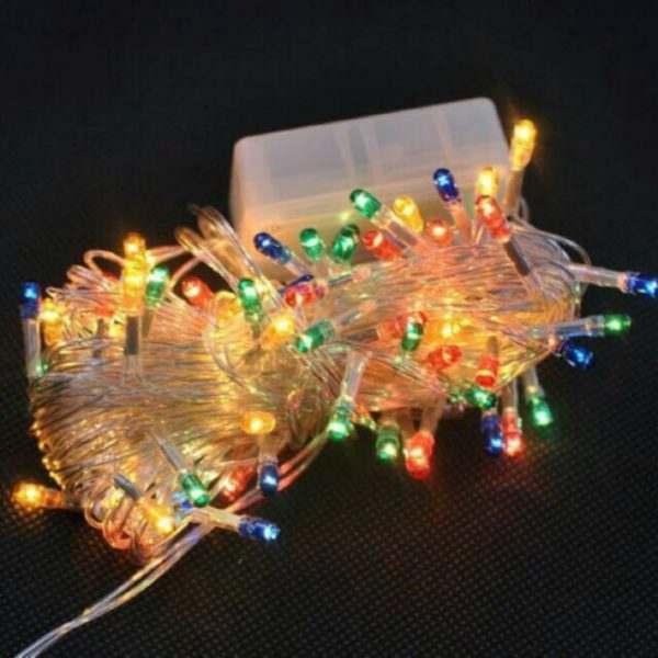 Đèn nháy LED dây 7 màu