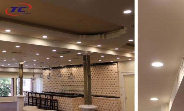 sử dụng và bảo quản đèn led âm trần