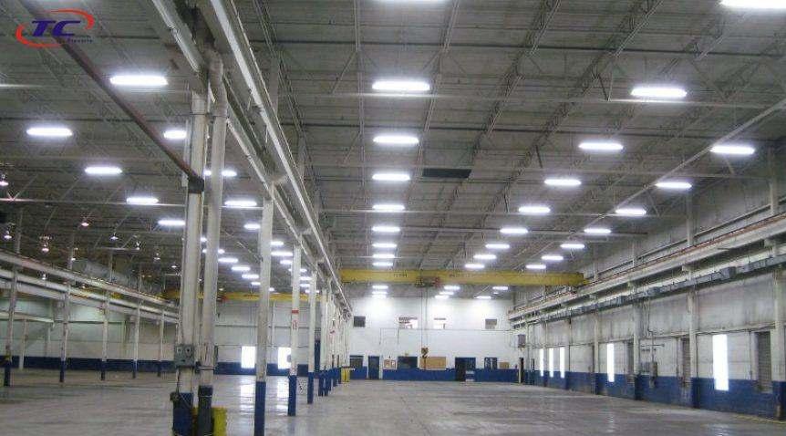 đèn led nhà xưởng duhal
