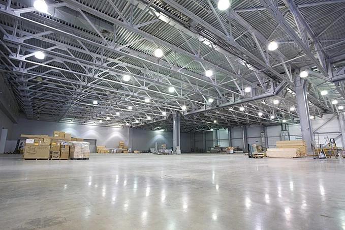 sử dụng đèn led trong chiếu sáng nhà xưởng