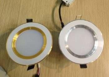 đèn led âm trần 3 màu duhal