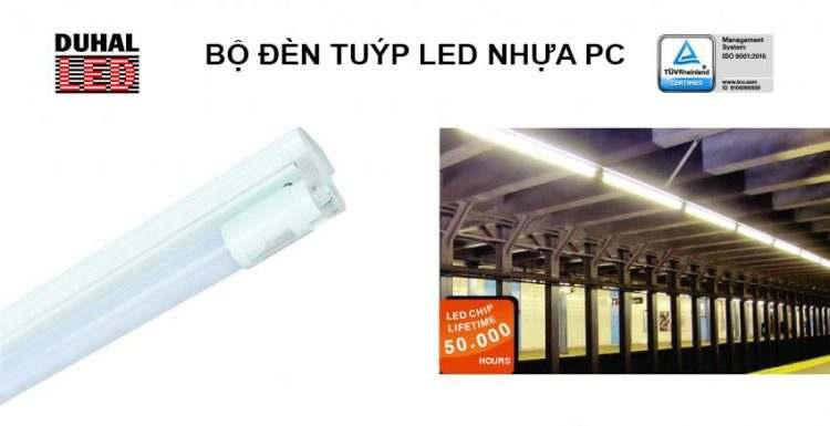Đèn LED tuýp PC cho gia đình cao cấp