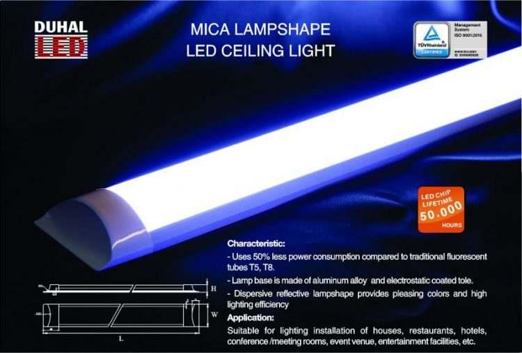Đèn LED tuýp bán nguyệt đẹp siêu tinh tế, siêu tiết kiệm