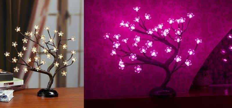 Đèn LED Cherry Bonsai để trang trí nhà
