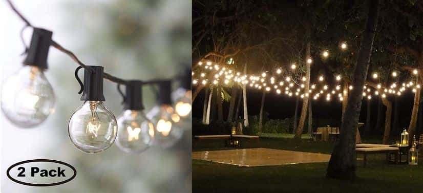 Đèn led chuỗi quả cầu ngoài trời