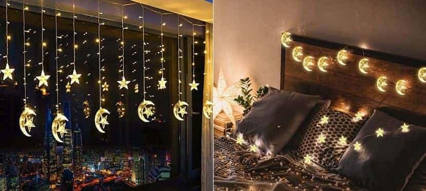 Đèn led lấp lánh trang trí nội thất